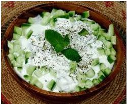 Cucumber-Raitha
