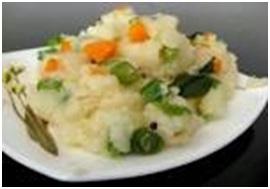 Vegetable-Rava-Upma